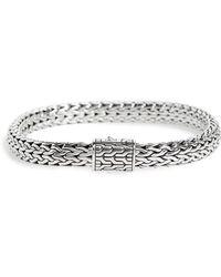 John Hardy - Classic Chain Medium Flat Chain Bracelet - Lyst
