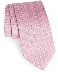 Ferragamo - Lamp Print Tie - Lyst