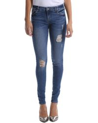Kut From The Kloth - Mia Ripped Toothpick Skinny Jeans - Lyst