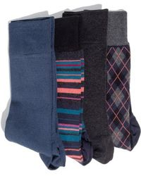 Hook + Albert - 4-pack Socks - Lyst
