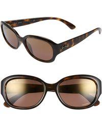 92249ec6dc1 Lyst - Ray-Ban Chromance 62mm Polarized Sunglasses - Gunmetal