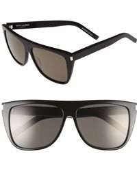 Saint Laurent - 59mm Sunglasses - Lyst
