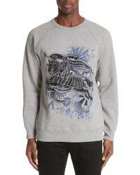 Burberry - Kaneford Standard Fit Sweatshirt - Lyst