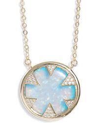 Melinda Maria - Tessa Opal Necklace - Lyst
