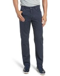 Brax - Five-pocket Stretch Cotton Pants - Lyst