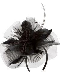 Tasha - Feather Bouquet Fascinator Headband - Lyst