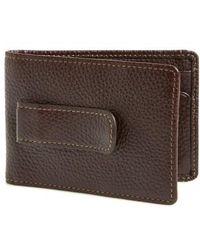 Boconi | 'tyler' Money Clip Wallet | Lyst