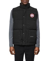 Canada Goose - Freestyle Regular Fit Down Vest - Lyst