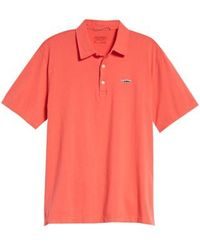 Patagonia - 'trout Fitz Roy' Organic Cotton Polo - Lyst