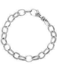 Lagos - 'link' Caviar Chain Bracelet - Lyst