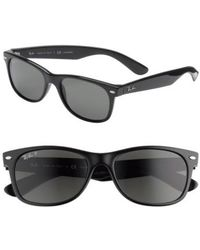 Ray-Ban - 'new Wayfarer' 55mm Polarized Sunglasses - - Lyst