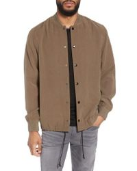 Calibrate - Trim Fit Varsity Jacket - Lyst