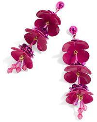 J.Crew - Bead & Blossom Earrings - Lyst