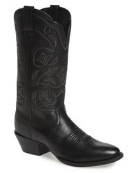 Ariat - Heritage Western R-toe Boot - Lyst
