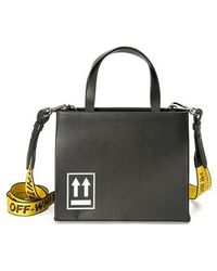 Off-White c/o Virgil Abloh - Medium Leather Box Bag - - Lyst