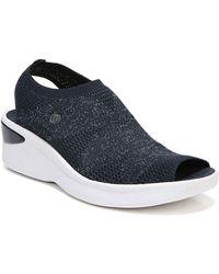 Bzees - Secret Peep Toe Knit Sneaker - Lyst