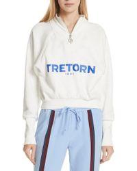 Tretorn - Graphic Half Zip Pullover - Lyst