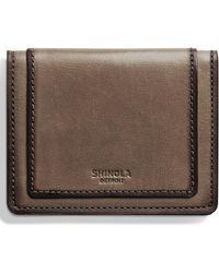 Shinola - Outlaw Folding Card Case - - Lyst