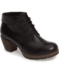 Wolky - Jacquerie Lace-up Bootie - Lyst