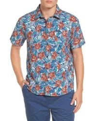 RVCA   Paradise Valley Floral Woven Shirt   Lyst