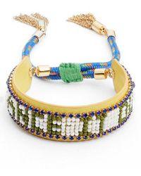 Rebecca Minkoff - Dance It Out Seed Bead Bracelet - Lyst