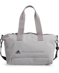 Lyst - adidas By Stella McCartney Iconic Small Bag - Eggshell in Green a75a6cc213094