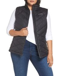 Columbia - Heavenly Water Resistant Insulated Vest - Lyst