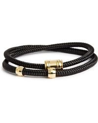 Miansai - Double Wrap Rope Bracelet - Lyst