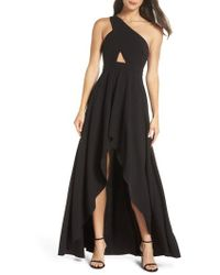 Fame & Partners - Zaylee High/low Gown - Lyst