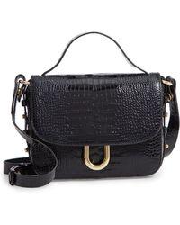 1dea345d41 Lyst - Rebecca Minkoff  harper  Studded Crossbody Bag - in Black