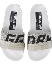 Golden Goose Deluxe Brand - Glitter Poolstar Sport Slide - Lyst