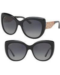 BVLGARI | 57mm Polarized Gradient Sunglasses | Lyst