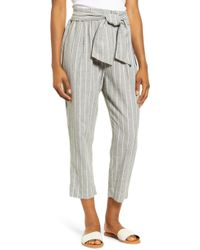Beach Lunch Lounge - Giavanna Stripe Beach Pants - Lyst