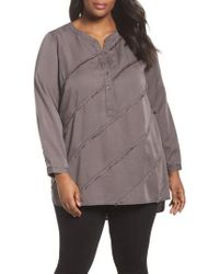 NIC+ZOE - Tranquil Tunic Top - Lyst