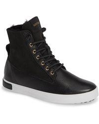 Blackstone - Ql46 Genuine Shearling Lined Sneaker Boot - Lyst