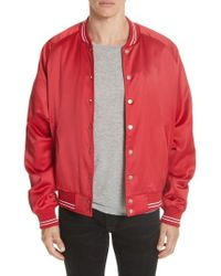 Stampd - Coach's Baseball Jacket - Lyst
