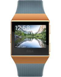 Fitbit - Ionic Fitness Tracker & Watch - Lyst