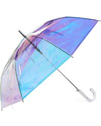 Shedrain - Iridescent Auto Open Stick Umbrella - Lyst
