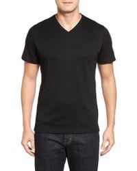 Robert Barakett | Georgia Regular Fit V-neck T-shirt | Lyst