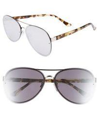 Chelsea28 - Straight Flush 64mm Aviator Sunglasses - Lyst
