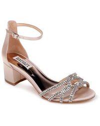 Badgley Mischka Women's Sonya Block Heel Sandal