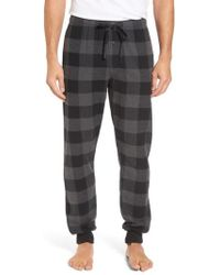 Polo Ralph Lauren - Check Jogger Pajama Bottoms - Lyst