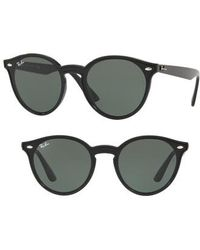 Ray-Ban - Blaze 37mm Round Sunglasses - - Lyst
