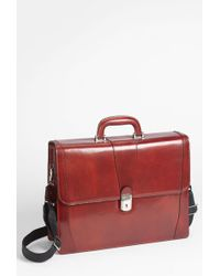 Bosca - Double Gusset Briefcase - Lyst