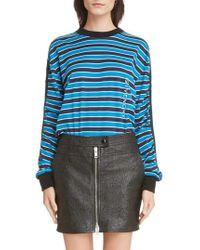 Givenchy - Stripe Logo Tee - Lyst