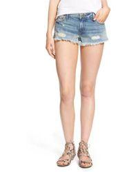 True Religion | Joey Flap Pocket Cutoff Shorts | Lyst