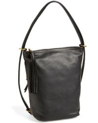 58593cc2ca Hobo - 'blaze' Convertible Leather Shoulder Bag - Lyst