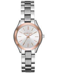 Michael Kors - 'slim Runway' Bracelet Watch - Lyst