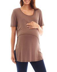 0f6f403e02e36 Women's Everly Grey Short-sleeve tops On Sale - Lyst