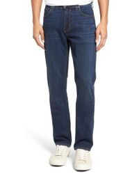 PAIGE | Normandie Straight Leg Jeans | Lyst